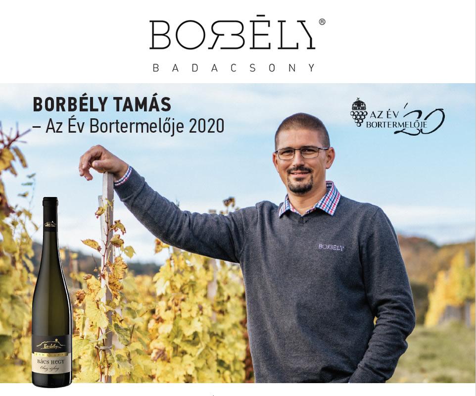 Az év bortermelője 2020